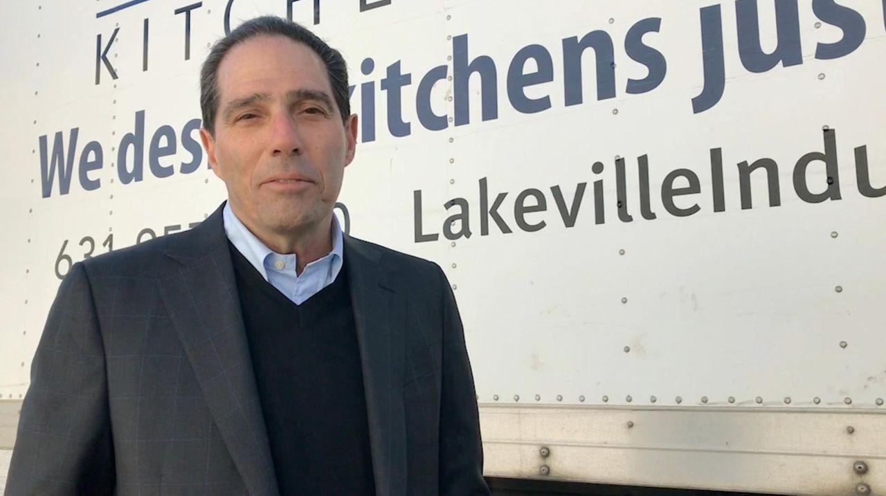 Richard Sirlin, president of Lakeville Kitchen & Bath,