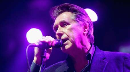 Bryan Ferry performs at the 2015 Coachella Valley