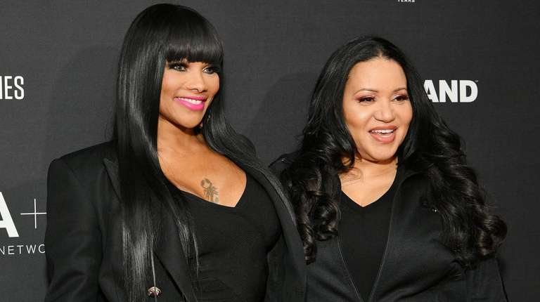 Sandra Denton and Cheryl James of Salt-N-Pepa attend