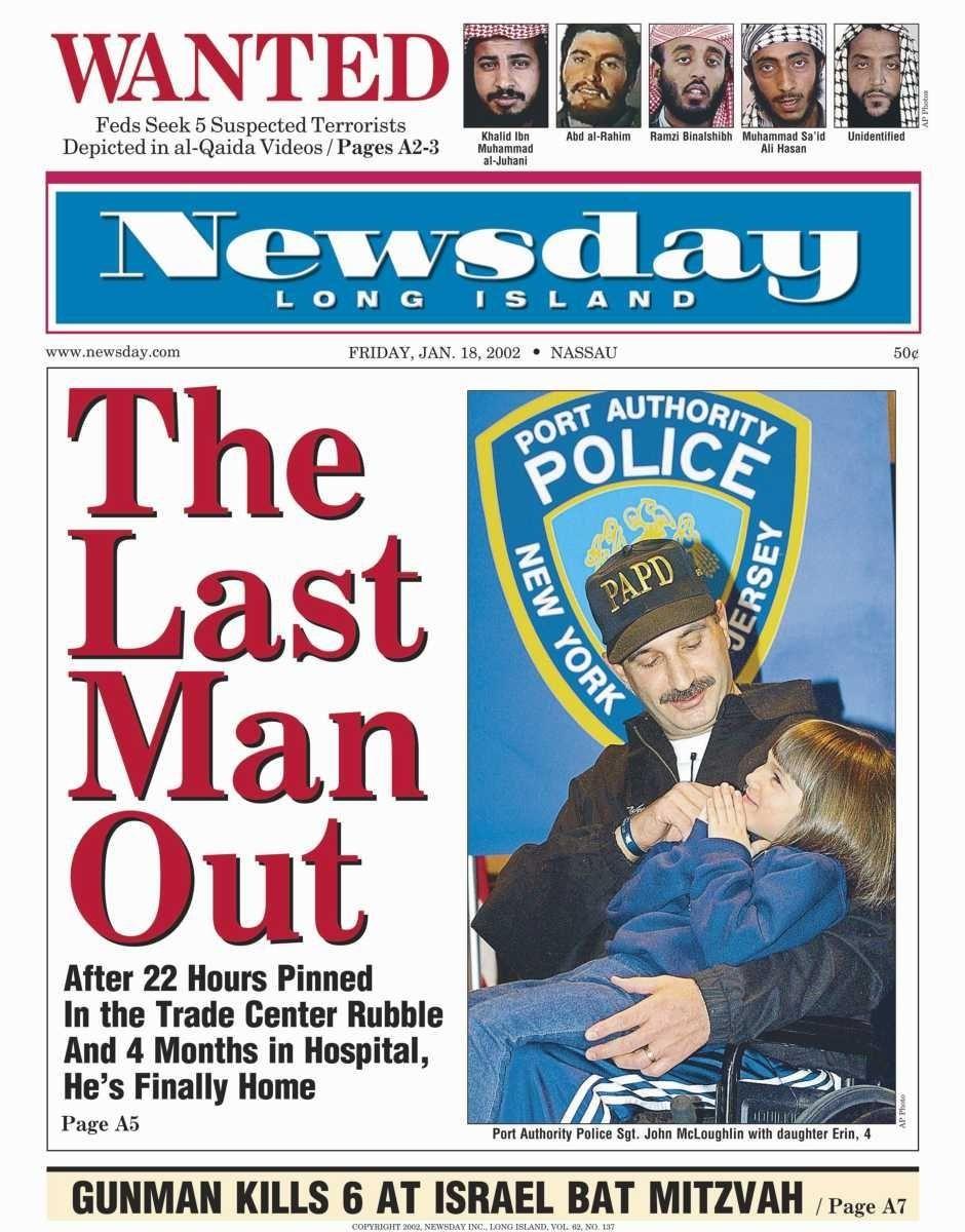 Friday, January 18, 2002. Read the story
