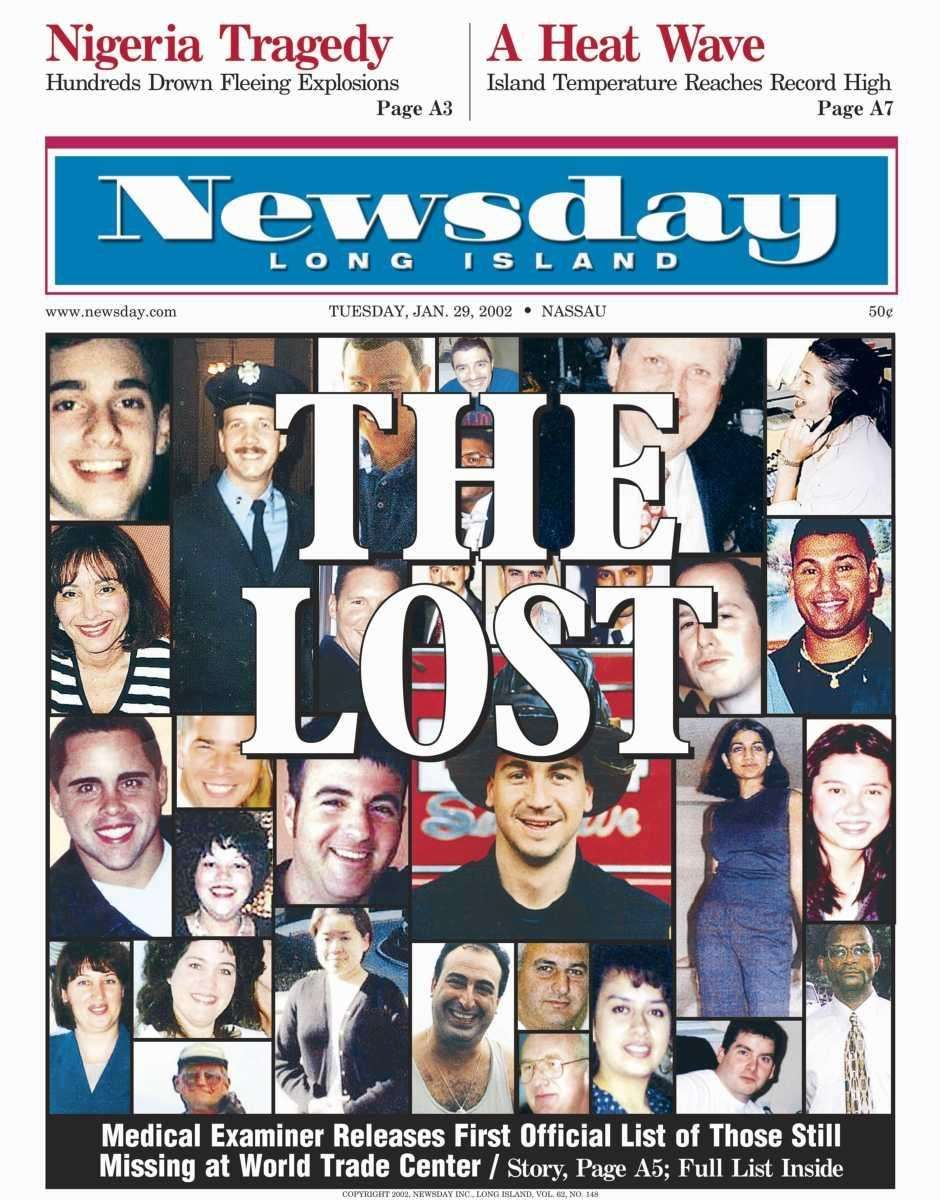 Tuesday, January 29, 2002. Read the story