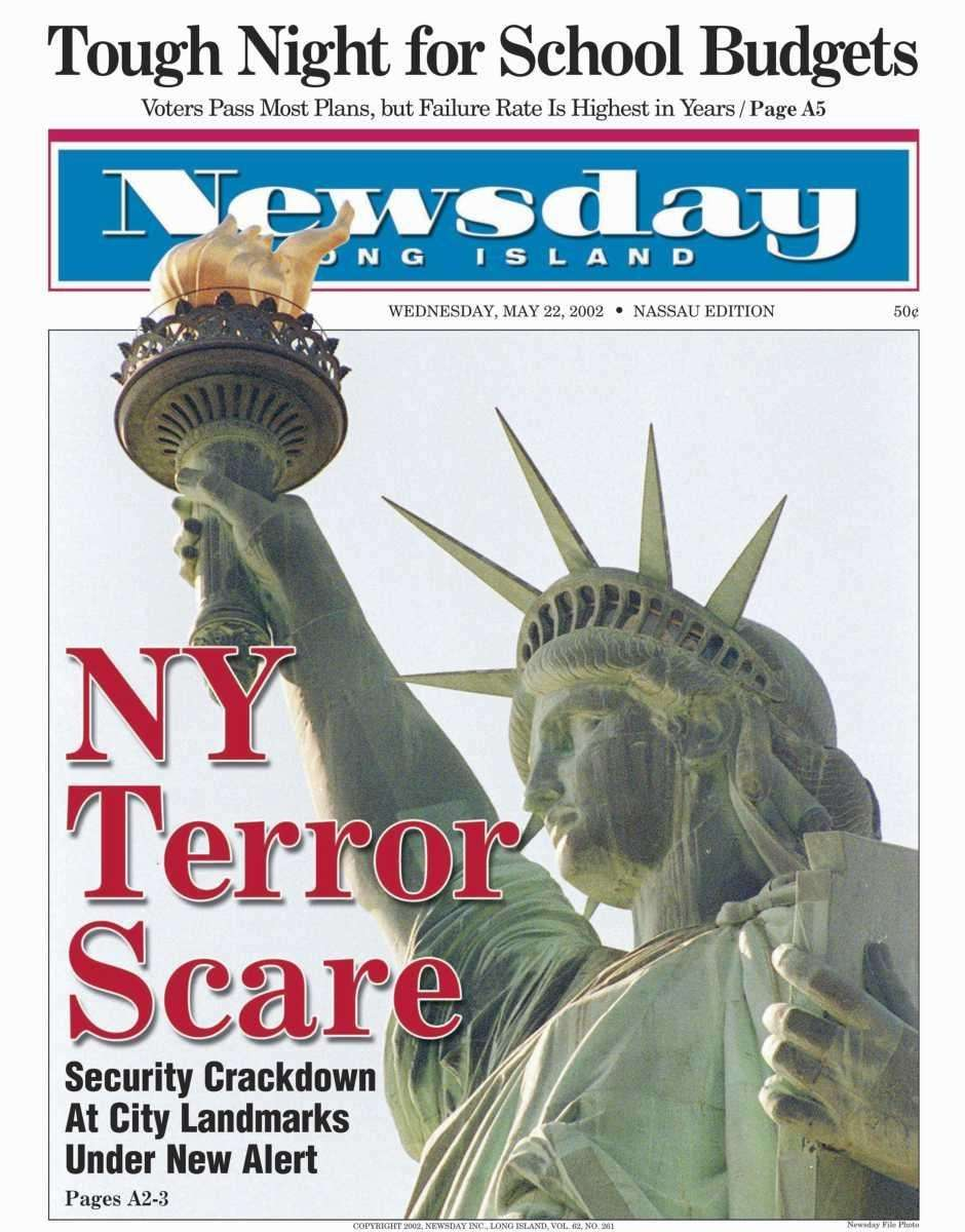 Wednesday, May 22, 2002. Read the story
