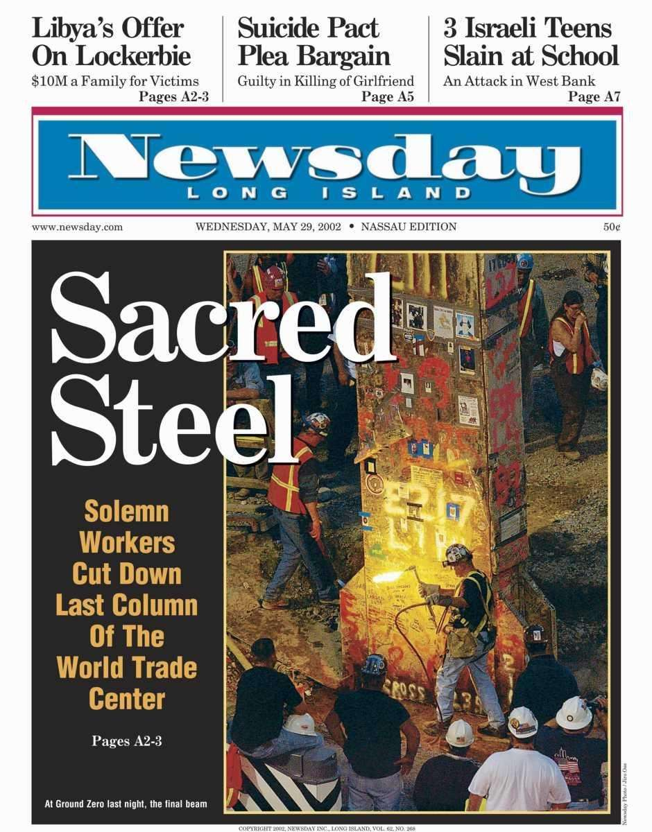 Wednesday, May 29, 2002. Read the story