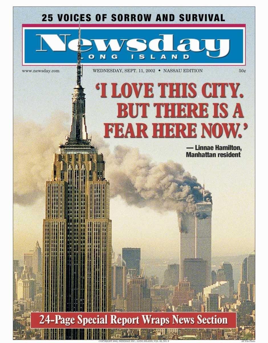 Wednesday, September 11, 2002. Read the story
