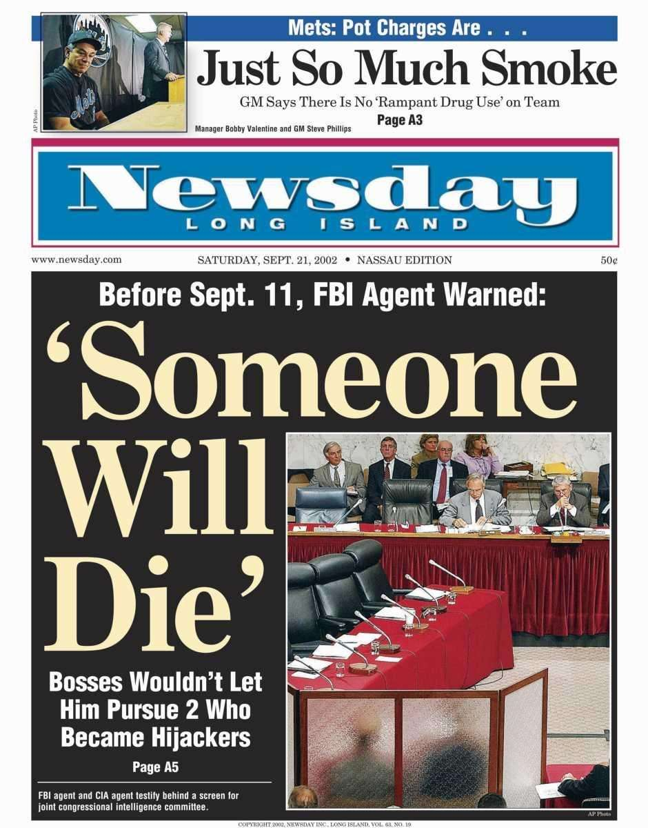 Saturday, September 21, 2002. Read the story