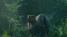 "A scene from ""Jurassic World: Fallen Kingdom."""