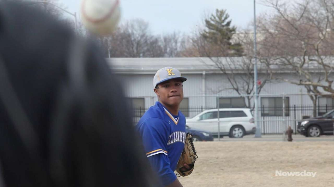 Kellenberg senior pitcher/designated hitter Jason Diaz has committed