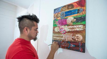 For Filiberto Perez of Farmingville, Teatro Experimental Yerbabruja