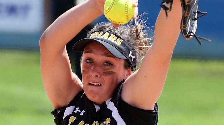 St. Anthony's pitcher Alyssa Seidler during the CHSAA