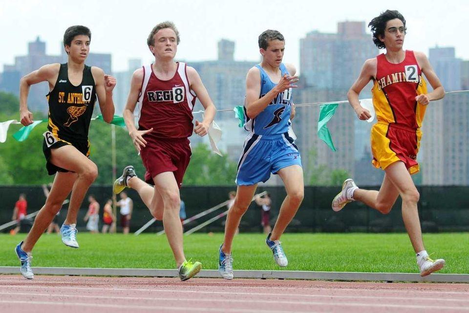 St. Anthony's High School sophomore Matthew Taddeo (6),