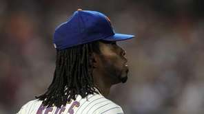 Jose Reyes of the New York Mets looks