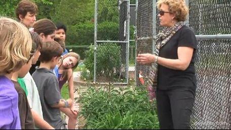 Sag Harbor Elementary School Teacher Kryn Olson teaches