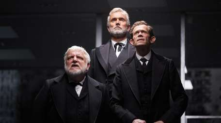 """Stars of """"The Lehman Trilogy"""" are, from left,"""