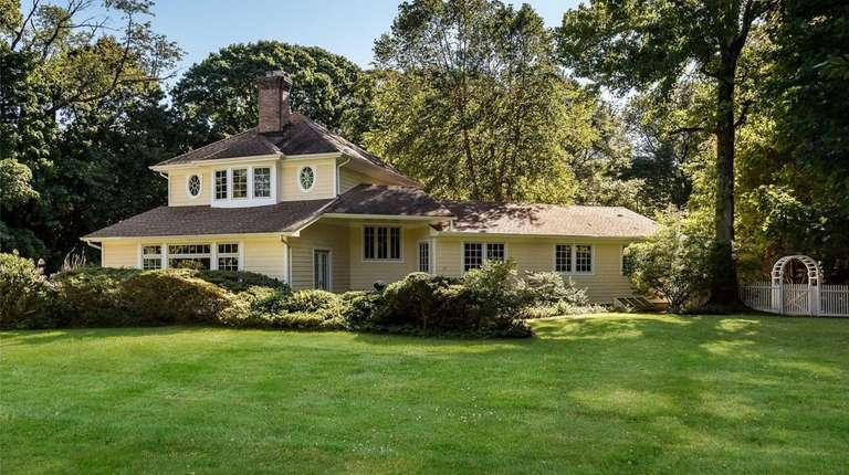 This Sands Point Colonial, for $2.2 million, includes