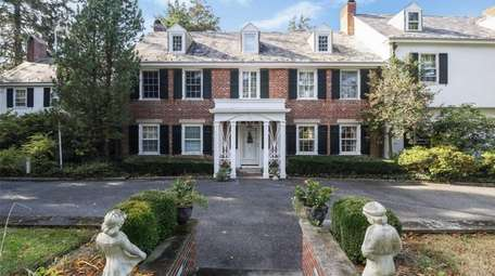 This Sands Point Colonial, for $3.313 million, includes