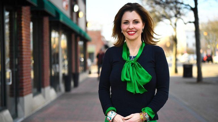 Councilwoman Erin King Sweeney is the majority leader