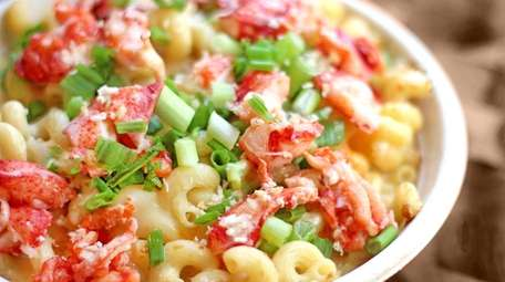 A lobster and white-truffle mac-and-cheese from I Heart
