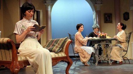 Jessica Forsythe, Jacqueline Raposo, Diana Marbury and Rosemary