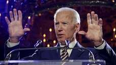 Former Vice President Joe Biden speaks at the