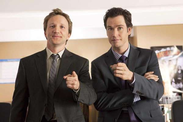 Mark- Paul Gosselaar and Breckin Meyer star in