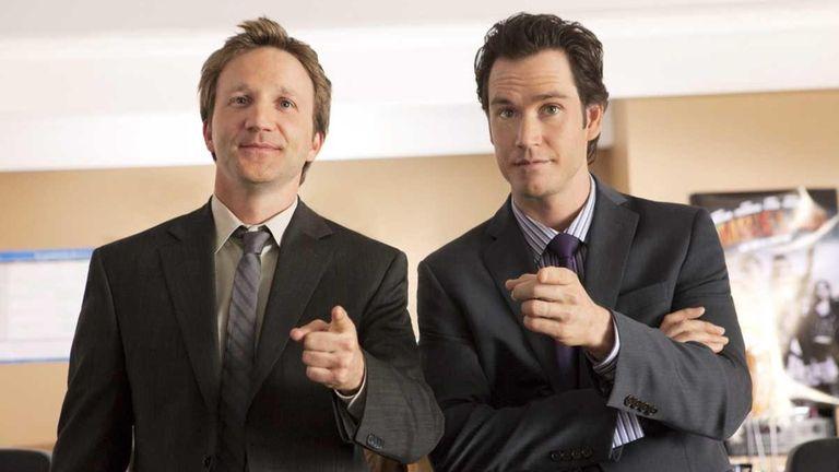 Mark- Paul Gosselaar and Breckin Meyer star in