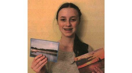 Kidsday reporter Kerry Harrington, of Maria Regina School