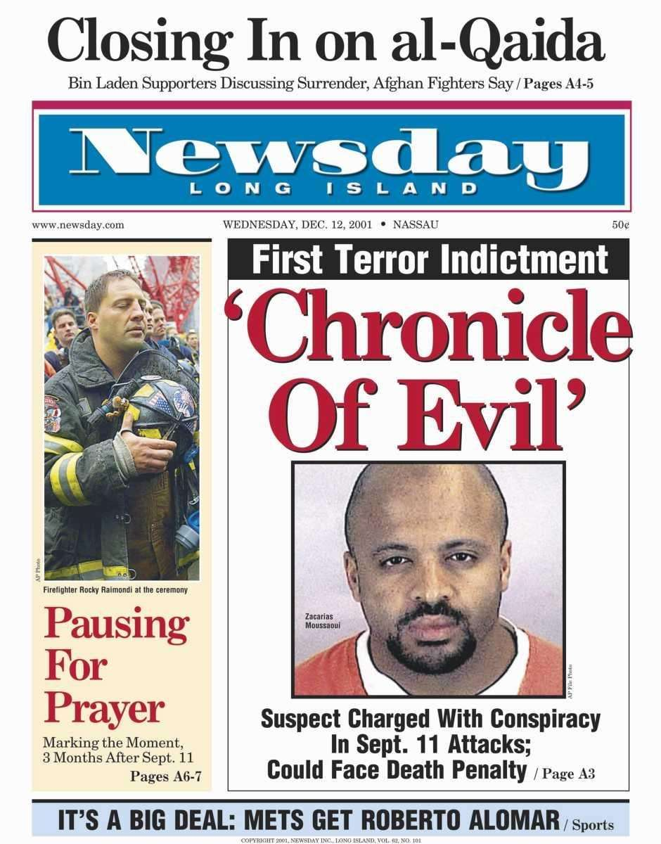 Wednesday, December 12, 2001. Read the story