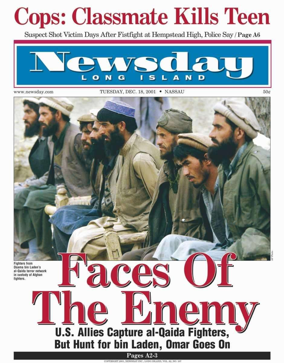 Tuesday, December 18, 2001. Read the story