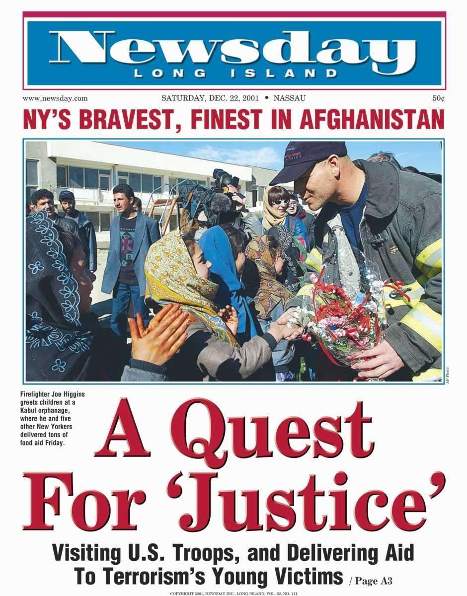 Saturday, December 22, 2001. Read the story