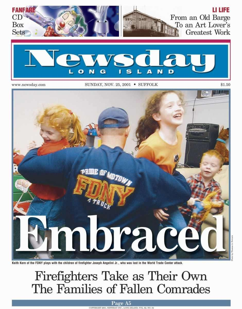 Sunday, November 25, 2001. Read the story