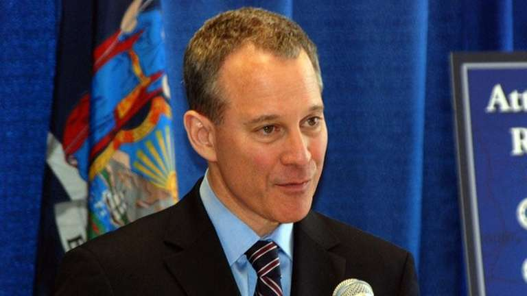 New York State Attorney General Eric Schneiderman. (May