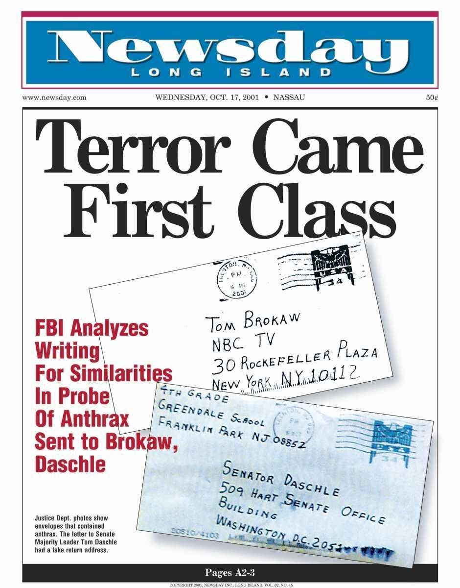 Wednesday, October 17, 2001. Read the story