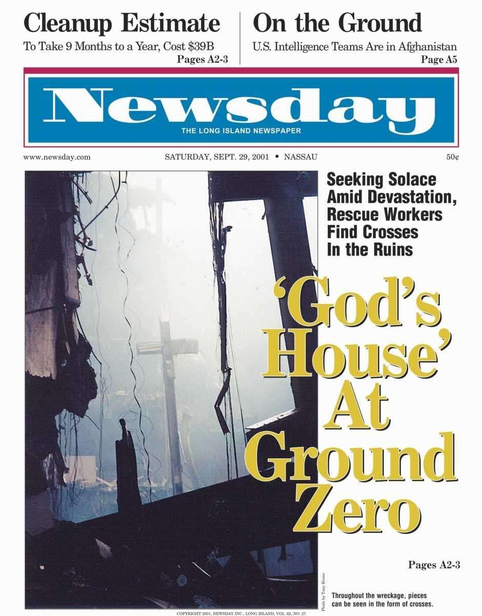 Saturday, September 29, 2001. Read the story