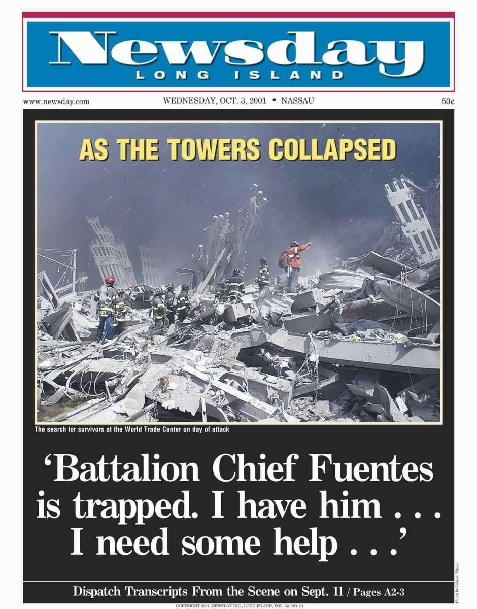 Wednesday, October 3, 2001. Read the story