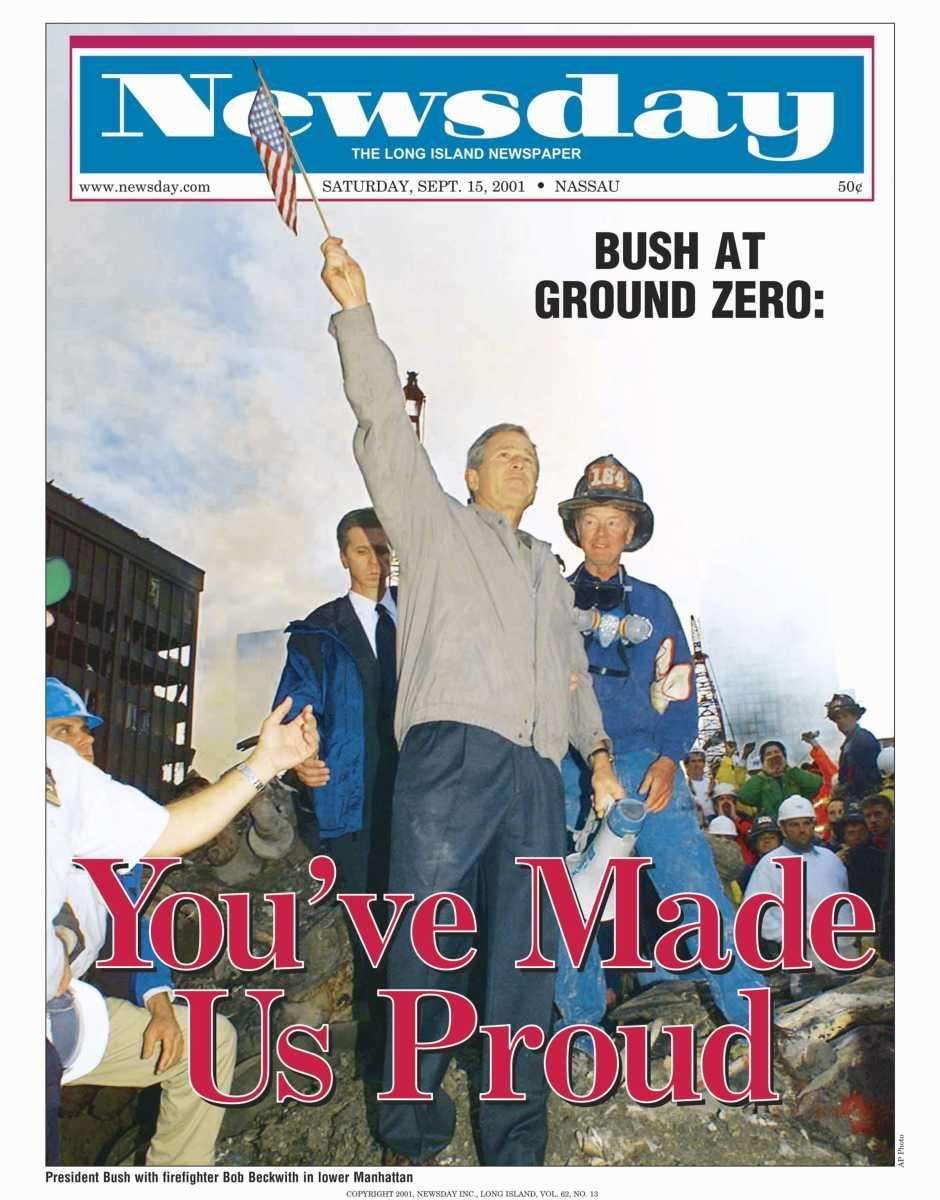 Saturday, September 15, 2001. Read the story