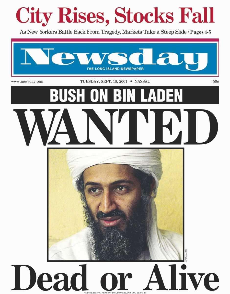 Tuesday, September 18, 2001. Read the story