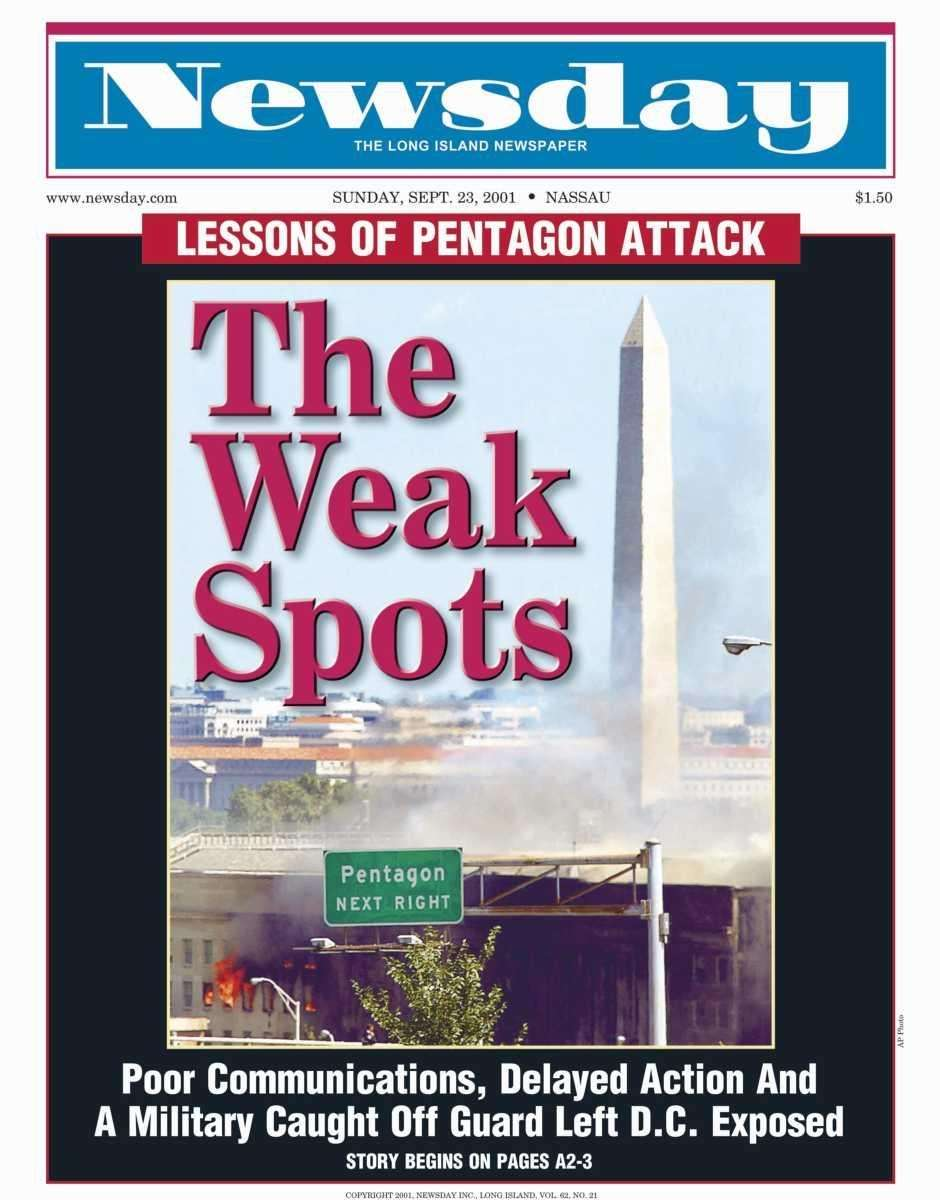 Sunday, September 23, 2001. Read the story