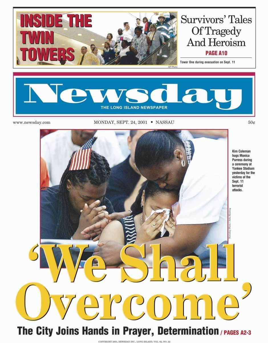 Monday, September 24, 2001. Read the story