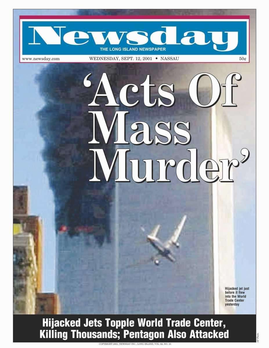 Wednesday, September 12, 2001. Read the story