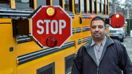 Anoop Keswani, a driver in the East Meadow