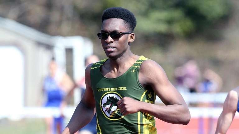 Westbury's Rodney Jerome comes in 1st place in