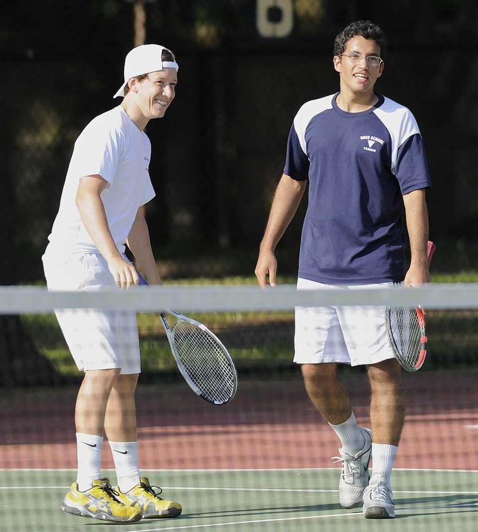 Ross' first doubles team of Henry Lee and