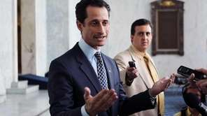 U.S. Rep. Anthony Weiner (D-NY) speaks to the