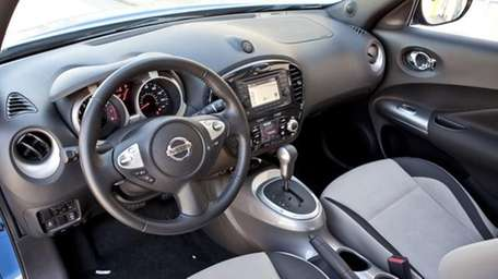 Interior 2011 Nissan Juke,