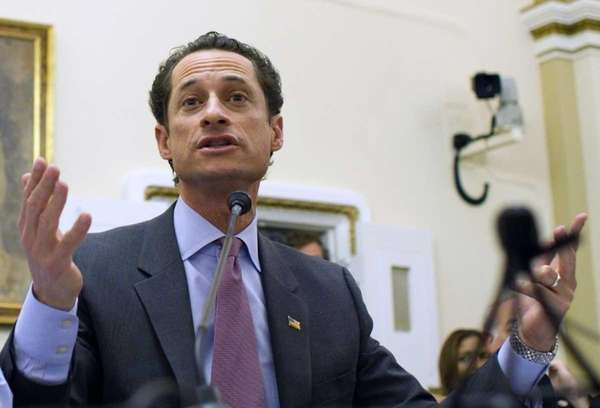 Rep. Anthony Weiner (D-N.Y.) testifies before the House