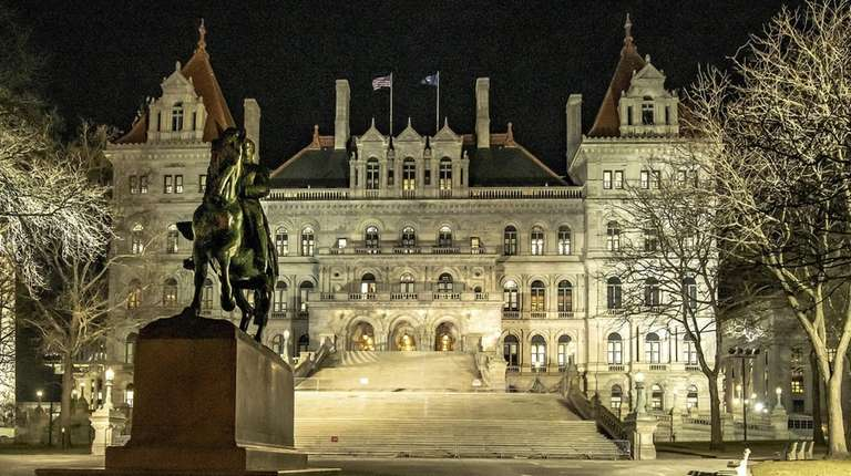 The State Capitol in Albany on Jan. 14.