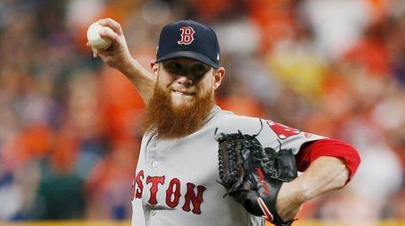 Craig Kimbrel #46 of the Boston Red Sox