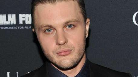 Actor Michael Pitt attends the after party for