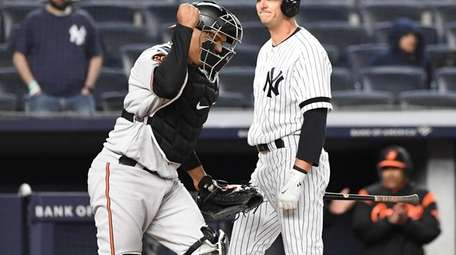 New York Yankees designated hitter Troy Tulowitzki and