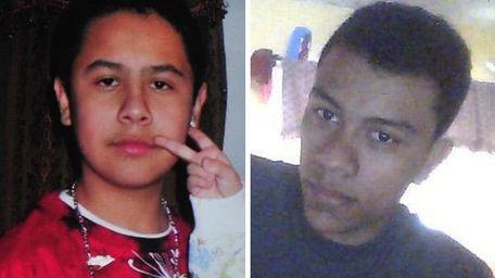 Undated photos of Eduardo Vanegas-Fuentes, left, and Edgar